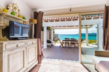Villa directly on the beach Lavandou